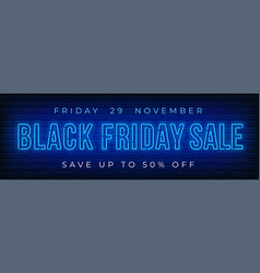 Black friday sale advertising design vector