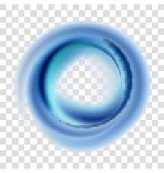 Blue circle vector