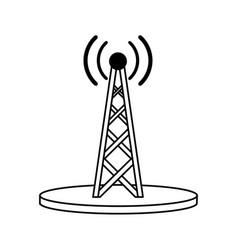 Electronic signal antenna vector