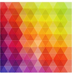 Geometric hipster retro background vector