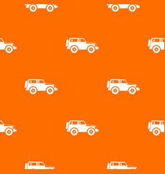 Jeep pattern seamless vector