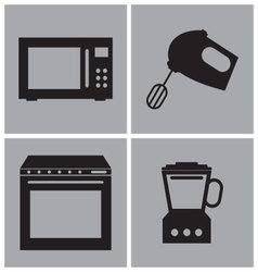 Kitchen Electronics vector image