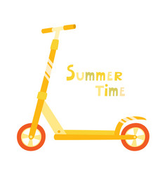 roller scooter set balance bikes isolated vector image