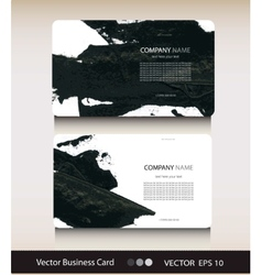Set abstract business card with place for your vector