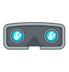 vr glasses icon cartoon style vector image