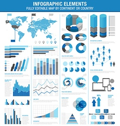 infographics cold ok vector image