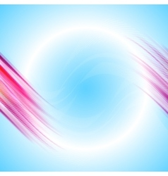 Abstract background vortex vector image vector image