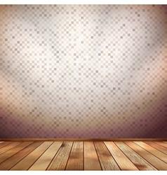 Nice wooden floor background EPS 10 vector image vector image