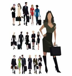 angular people vector image vector image