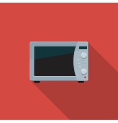 Microwave Color icon vector image vector image