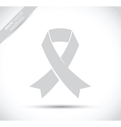 brain cancer awareness vector image vector image