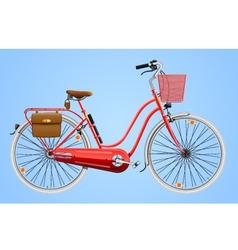 Ladies bicycle vector image