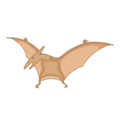 pterosaurs icon cartoon style vector image vector image