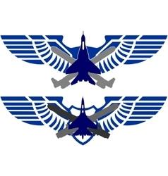 Badges Air Force vector