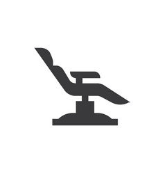 dentist chair icon vector image