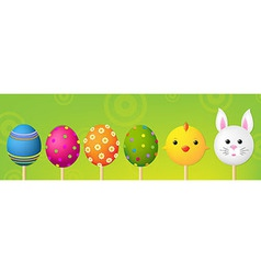 Easter Header vector