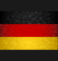 Germany country flag of german nation vector