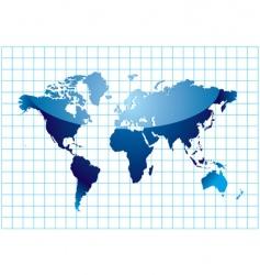 grid world vector image
