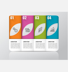 infographic design and marketing icons can be vector image