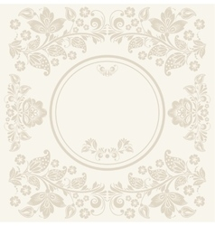 Invitation anniversary card with label for your vector