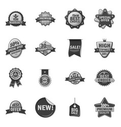 isolated object emblem and badge symbol vector image