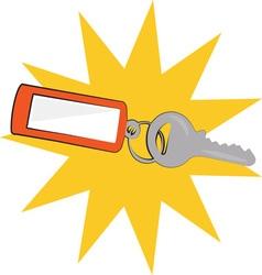 Keys Burst vector image