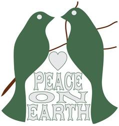 Peace On Earth vector