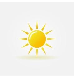 Sun icon or logo vector