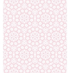 Lace on the pink vector