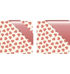 Pattern of background for gift card vector image