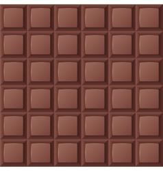 Chocolate bar seamless vector image vector image