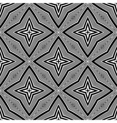 Design seamless monochrome star background vector