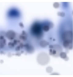 Molecules abstract of good vector image