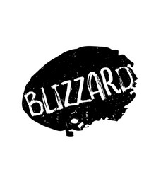 Blizzard rubber stamp vector