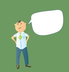 character man vector image