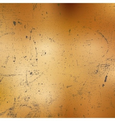 Damaged Copper Texture vector image