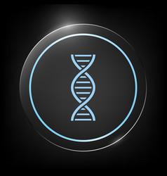 dna symbol icon vector image