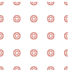 fan icon pattern seamless white background vector image