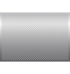 Gray metal background vector