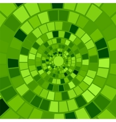 Green Mosaic Background vector