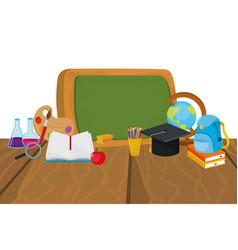 School board cartoon vector