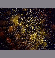 festive background with sparkles and glitter vector image vector image