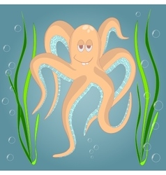 Very Funny octopus vector image