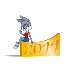 new year symbol vector image vector image