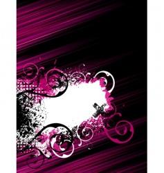 stripe grunge background vector image
