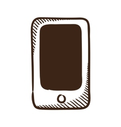 Abstract phone symbol vector image