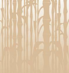 Bamboo beige vector