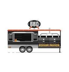 bbq outdoor cafe service icon vector image