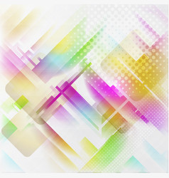 corporate futuristic multicolor design abstract vector image