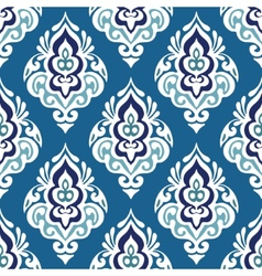 Damask seamless floral vector